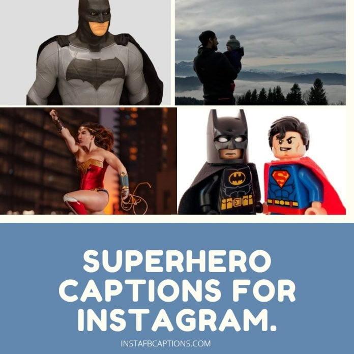 Superhero Captions