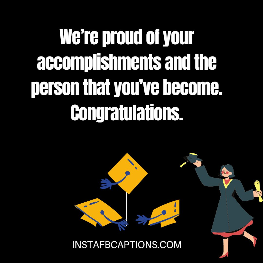 Sweet One Liner Graduation Messages  - Sweet One Liner Graduation Messages - GRADUATION DAY Congratulation Messages from Parents in 2021