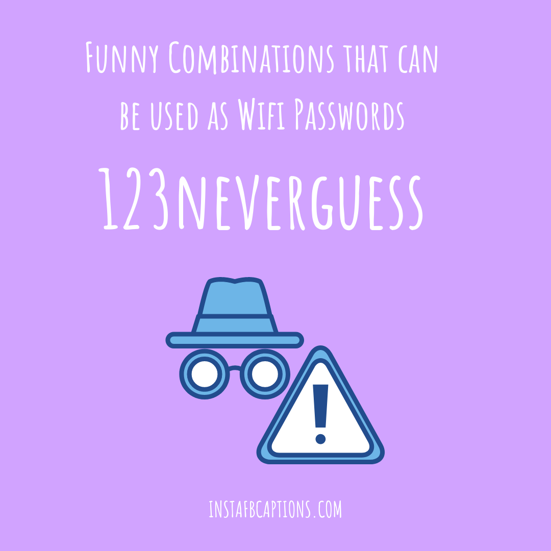 Funny Combinations That Can Be Used As Wifi Passwords passwords for wifi - Funny Combinations that can be used as Wifi Passwords - Wifi Passwords List for Clever and Strong Secure WIFI in 2021